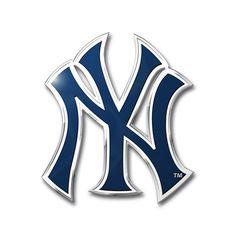 New York Yankees Auto Emblem - Color