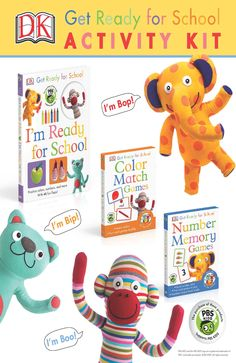 Get Ready for School with Bip, Bop, and Boo! Teach kids about colors and more with these fun activity sheets. Activity Ideas, Fun Activities, Activity Sheets For Kids, Color Games, Pbs Kids, Game 3, School Readiness, Memory Games, School Colors