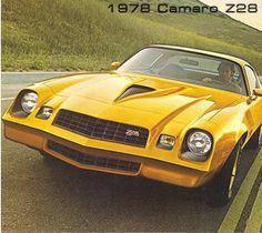 1978 Chevy Camaro Z28