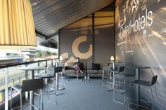 VIP Lounge Ciutat Hotels. Circuit de Montmeló. Egue y Seta Interior Design