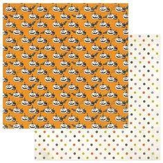 Photoplay - Bootiful - 12 x 12 Pumpkins Scrapbook Paper