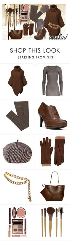 """""""Untitled #356"""" by the-student-bride ❤ liked on Polyvore featuring Rick Owens, Diverso, LifeStride, Barneys New York, Chanel, Calvin Klein, Charlotte Tilbury and wintersweater"""