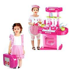 cozinha, meninas, rosa, panelinha, casinha