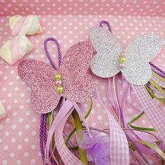 Μπομπονιέρα Βάπτισης Fancy Nancy, Butterfly, Scrapbook, Crafts, Accessories, Butterflies, Party, Cha Cha, 1 Year