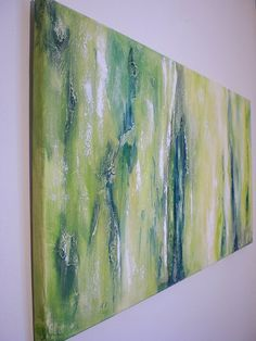 Large Original Textured Abstract Painting on Canvas por itarts
