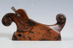 A 17th c. French Renaissance Plane with Horn image 4
