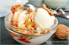 Mira que me gustan los yogures griegos, pues el helado ya ni te cuento, es una receta bien sencilla que suele gustar a niños y a mayores por la cremosidad de este helado así que anímate a hacerla q…