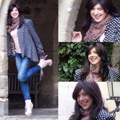 Marlenes choice today... :-) #marlenebitzer #dots #highheels