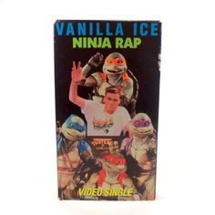 Vintage VHS Vanilla Ice Ninja Rap Music Video by TheJunkinSailor, $6.50