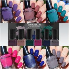 Barielle Me Couture Collection  via #thepolishedmommy #swatches #review #polish #nailblogger - bellashoot.com