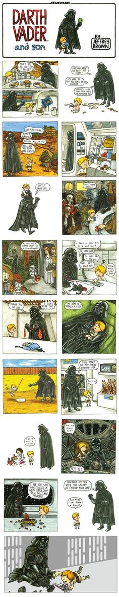 HAPPY FATHER'S DAY!   Manila Gawker: Daily Dose of Geekiness: Darth Vader and Son Book