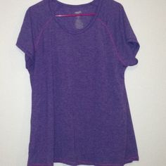 Avia exercise tee! Perfect light weight tee for working out or super cute with jeans or shorts! Tops Tees - Short Sleeve