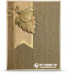 CARDS: Spotlight on Retiring Holiday Products for Fall | Stampin Up Demonstrator - Tami White - Stamp With Tami Crafting and Card-Making Stampin Up blog
