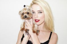 Amber Heard shot by Terry Richardson for The New York Times T Magazine (Outtakes)