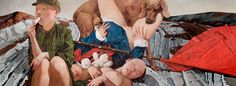 Juxtapoz Magazine - Paintings by Wei Dong
