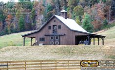 Barn Great Plains Eastern Horse Barn project by Sand Creek Post & Beam. View this gallery for ideas on your next dream barn. Barn House Plans, Barn Plans, Horse Barns, Old Barns, Horse Barn Designs, Country Barns, Country Life, Barn Shop, Barn Garage