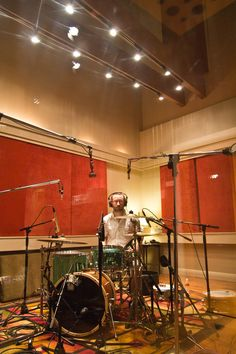 The Drum Room at the Music Shed Recording Studio in New Orleans