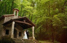 #свадьба_в_испании Gazebo, Outdoor Structures, House Styles, Decor, Woods, Naturaleza, Kiosk, Decoration, Pavilion