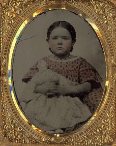 Maine Girl With Dolly by Mirror Image Gallery, via Flickr