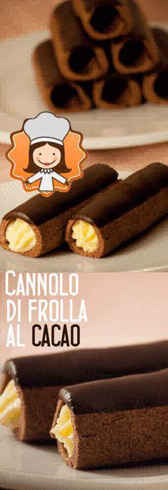 Profiteroles, Cookie Recipes, Dessert Recipes, Biscotti Cookies, Sicilian Recipes, Dessert Decoration, Mini Desserts, Sweet Cakes, Cakes And More
