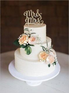 Торт свадебный открытый №62 - 500 грн/кг Без учета цветов