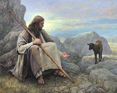 Beautiful new Greg Olsen painting. Lds Art, Bible Art, Greg Olsen Art, Image Jesus, Bibel Journal, Première Communion, Pictures Of Jesus Christ, Jesus Painting, Paintings Of Christ