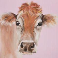 Marjorie Acrylic on canvas 40x40cm £175