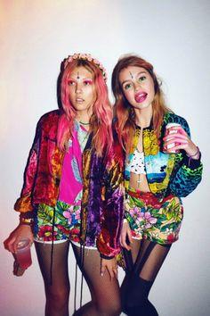 crazy colorful
