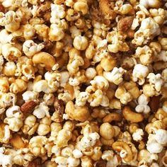 A sweet appetizer? Why not. Our low-calorie caramel popcorn recipe is a cinch to make in bulk, and the portable appetizer can be stored in an airtight container for up to one week.