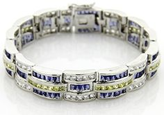 Platinum Plated. Sizes Avail: 8' 9'. Sleek and stunning this polished rhodium plated bracelet has secure soldered hinges and flexible links. Weight is Approx 63.1 grams. CARING FOR STERLING SILVER As...