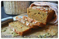 Tasty Health: Glutenfri proteinrik morotslimpa med pumpafrön