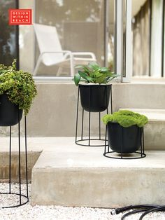 NEW | Wire Planter designed by Norm Architects available at Design Within Reach
