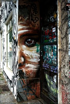 Street art, Graffitti, beautiful, eye, gorgeous, spectacular, photo.