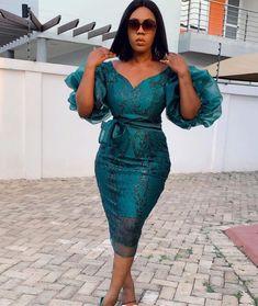 African Evening Dresses, Short African Dresses, Latest African Fashion Dresses, Elegant Dresses For Women, Fabulous Dresses, African Print Dress Designs, Lace Dress Styles, Girls Party Dress, Classy Dress