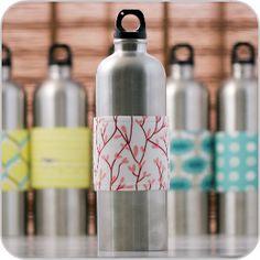 Cute water bottle wraps!