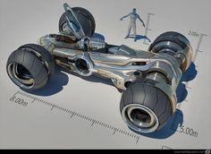 Mike Hill Concept Art - KARAKTER Design Studio.