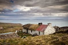 Old Thatched house near Crohy Head in Donegal ~ Gary McParland