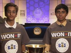 National Spelling Bee co-champion: Final word was 'easy'