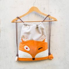 Backpack ZORRO PACO. 100% handmade.  Mochilas ByValera.