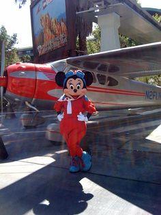 Aviator Minnie Mouse
