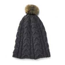Knitting pattern: Knit Puschelmütze - Instructions for knitting - Strick Muster Knitted Hats, Needlework, Knitting Patterns, Fur Coat, Winter Hats, Crochet, Blog, Crafts, Bonnets