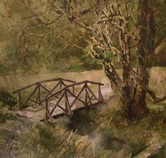 Aboretet at Milde, Bergen by Roald Grimsø Bergen, Painting, Art, Art Background, Painting Art, Kunst, Gcse Art, Paintings, Painted Canvas