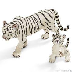 Schleich Tiger white.