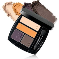 Avon True Color Matte Eyeshadow Quad: All-Matte Finish Quads! Sumptuous, Coordinating matte shades for a chic, sophisticated look. Shop online at www.youravon.com/my1724 or by clicking on the pin..