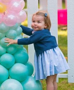 Princess Charlotte September 2016 in Canada at the Government House Party
