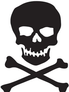pirate clip art free printable illustration of pirate skull rh pinterest com clipart skull and crossbones pirate skull and crossbones clipart black and white