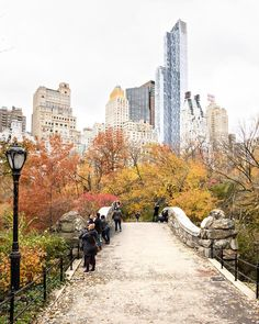 I miss those autumn colours in Central Park . I had about 2 seconds to take this photo before other people got in front of me and on the bridge to take endless selfies. Keep walking people!  Another highlight of the trip was definitely staying at The New York EDITION hotel. Have you ever been to one of their hotels? Loved it there. Theres a new post about my stay on the blog with lots of photos.