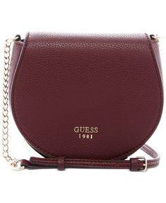 GUESS Cate Mini Saddle Crossbody Bag $60 and 25 percent