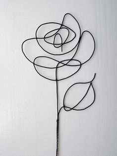 Lote de 3 flores rosas en el recuit de alambre real flor | Etsy Mural Floral, Floral Wall, Yarn Flowers, Pink Flowers, Wire Crafts, Paper Crafts, Sculptures Sur Fil, Art Fil, Wire Art Sculpture
