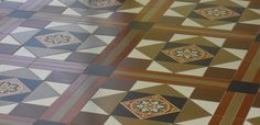 Top tips for decorating with Victorian Floor Tiles.